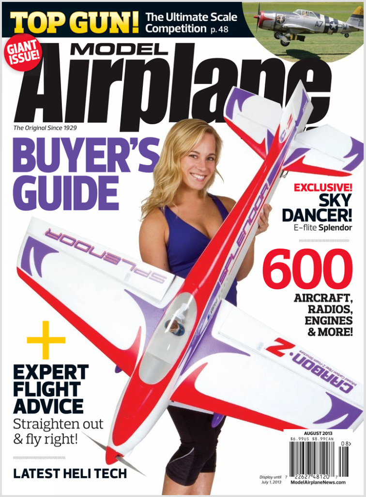 Model Airplane News   August 2013   Front Cover