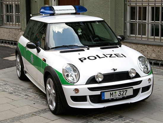 From 12 Coolest Police Cars