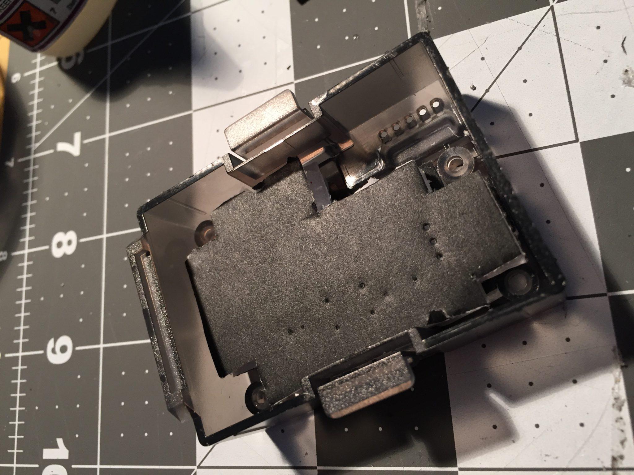 Module Back With Foam