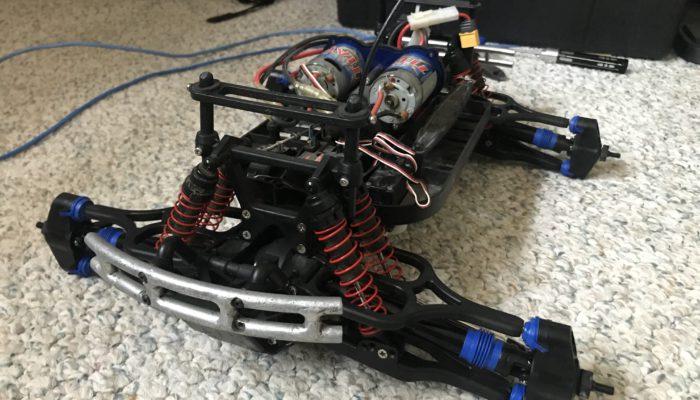 3906 E-Maxx CVD Upgrades
